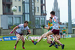 Paudie Clifford, Kerry in action against Ronan Steede, Galway during the Allianz Football League Division 1 South Round 1 match between Kerry and Galway at Austin Stack Park in Tralee.