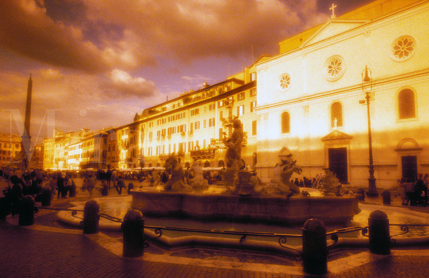 Italy,Rome, Piazza Navone