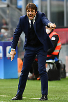 Antonio Conte coach of FC Internazionale reacts during the Serie A football match between FC Internazionale and FC Crotone at stadio San Siro in Milano (Italy), January 3rd, 2021. Photo Daniele Buffa / Image Sport / Insidefoto