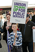 Southend Against the Cuts march.
