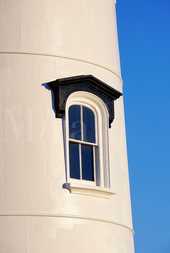 Lighthouse window, East Chop Light, Oak Bluffs, Martha's Vineyard, Massachusetts