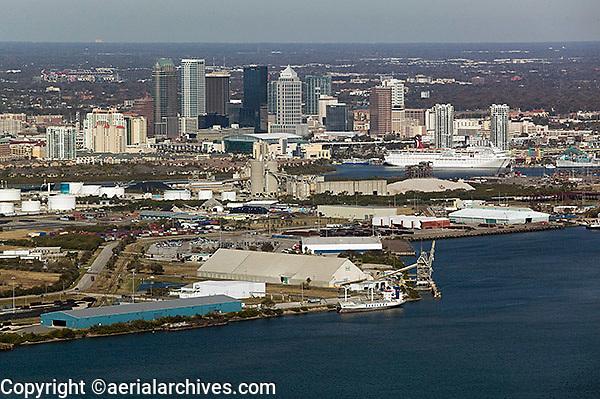 aerial photograph Port of Tampa, Florida