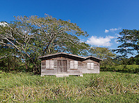 Small rural shack in Westmoreland Parish, Jamaica