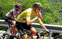 11th July 2021, Ceret, Pyrénées-Orientales, France; Tour de France cycling tour, stage 15, Ceret to  Andorre-La-Vieille;   POGACAR Tadej (SLO) of UAE TEAM EMIRATES  during stage 15 of the 108th edition of the 2021 Tour de France cycling race, a stage of 191,3 kms between Ceret and Andorre-La-Vieille.