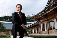 Lee Myung-bak, President of Korea.<br /> <br /> Photo portfolio of Kim  / Sinopix
