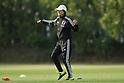 Soccer : Japan Women's National team training camp