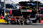 #20: Christopher Bell, Joe Gibbs Racing, Toyota Camry GameStop Tomb Raider makes a pit stop, Sunoco