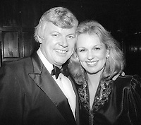 Gov. John Brown and wife Phyllis George 1981<br /> Photo By Adam Scull/PHOTOlink.net