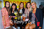 Enjoying the evening in Sean Og's on Saturday, l to r: Ciara Morrissey, Shauna Daly, Clodagh Ryan, Laura Molone and Nessa Casey.