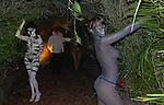 Animal girls greet attendees