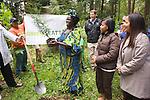 Pelly Place Natural Area, Seattle, Washington Nobel Peace Prize laureate Wangari Maathai