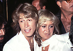 ANDY GIBB and SUSAN GEORGE.© Chris Walter.