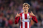 Antoine Griezmann of Atletico de Madrid celebrates during their 2016-17 UEFA Champions League match between Atletico Madrid and FC Rostov at the Vicente Calderon Stadium on 01 November 2016 in Madrid, Spain. Photo by Diego Gonzalez Souto / Power Sport Images