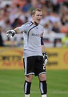 Toronto FC. goalkeeper Stefan Frei (24).   DC United tied Toronto FC. 3-3 at  RFK Stadium, Saturday May 9, 2009.