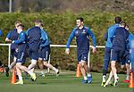 01.03.2019: Rangers training: Lee Wallace