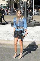 Anna Dello Russo - Show MIU MIU - Paris Fashion Week Womenswear Spring/Summer 2017 - 5 octobre 2016 - FRANCE