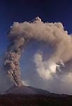 Mt. Etna summit vent, Sicily, Italy