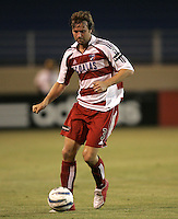 14 May 2005: Carey Talley  of FC Dallas in action against Earthquakes at Spartan Stadium in San Jose, California.   Earthquakes tied FC Dallas, 0-0.   Credit: Michael Pimentel