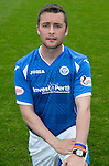 St Johnstone FC Photocall, 2015-16 Season....03.08.15<br /> Tam Scobbie<br /> Picture by Graeme Hart.<br /> Copyright Perthshire Picture Agency<br /> Tel: 01738 623350  Mobile: 07990 594431