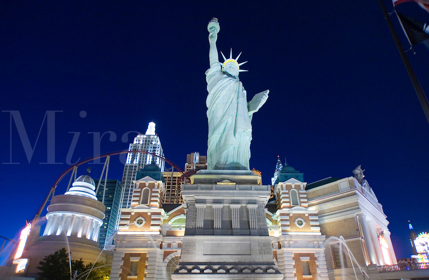 New York, New York Resort and Casino in Las Vegas, Nevada