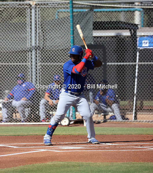 Yonathan Perlaza - 2020 AIL Cubs (Bill Mitchell)