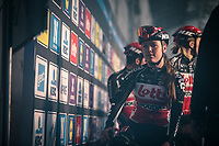 Lotto Soudal ladies pre race<br /> <br /> 12th Women's Omloop Het Nieuwsblad 2020 (BEL)<br /> Women's Elite Race <br /> Gent – Ninove: 123km<br /> <br /> ©kramon
