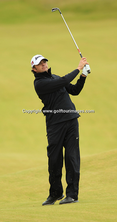 Andrew Marshall during the second round of the 2012 Aberdeen Asset Management Scottish Open being played over the links at Castle Stuart, Inverness, Scotland from 12th to 14th July 2012:  Stuart Adams www.golftourimages.com:13th July 2012