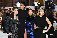 """Kristen Stewart, Ella Balinska, Naomi Scott and Elizabeth Banks<br /> arriving for the """"Charlie's Angels"""" premiere at the Curzon Mayfair, London.<br /> <br /> ©Ash Knotek  D3538  19/11/2019"""