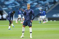 Erik Lamela of Tottenham Hotspur before Tottenham Hotspur vs Everton, Premier League Football at Tottenham Hotspur Stadium on 6th July 2020