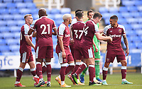 21st July 2021; Madejski Stadium, Reading, Berkshire, England; Pre Season Friendly Football, Reading versus West Ham United; Conor Coventry of West Ham celebrates with his team after scoring their second goal in 54th minute 0-2