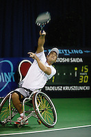 17-11-06,Amsterdam, Tennis, Wheelchair Masters, Satoshi Saida