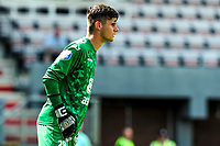 EMMEN - Voetbal, FC Emmen - Heracles Almelo , voorbereiding seizoen 2021-2022, 25-07-2021,  Heracles keeper Robin Jalving