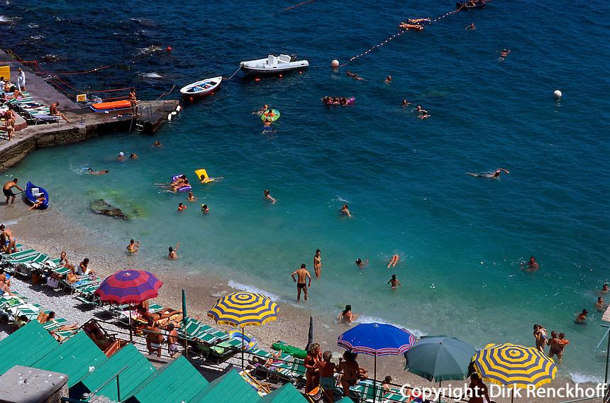 Italien, Capri, Strand von Marina Piccola