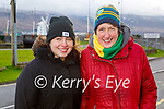 Enjoying a stroll in Blennerville on Thursday, l to r: Olivia and Ann O'Shea