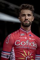 Nacer Bouhanni (FRA/Cofidis solutions credits)  pre race<br /> <br /> 78th Euro Metropole Tour 2018<br /> La Louvière – Tournai (BEL): 206km