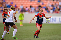 Houston, TX - Sunday Oct. 09, 2016: Christine Nairn during the National Women's Soccer League (NWSL) Championship match between the Washington Spirit and the Western New York Flash at BBVA Compass Stadium.