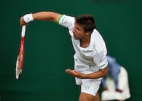 England, London, 24.06.2014. Tennis, Wimbledon, AELTC, Igor Sijsling (NED)<br /> Photo: Tennisimages/Henk Koster