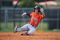 Houston Astros Johnny Sewald (74) during an instructional league game against the Atlanta Braves on October 1, 2015 at the Osceola County Complex in Kissimmee, Florida.  (Mike Janes/Four Seam Images)