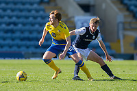 3rd April 2021; Dens Park, Dundee, Scotland; Scottish FA Cup Football, Dundee FC versus St Johnstone; Liam Craig of St Johnstone goes past Max Anderson of Dundee
