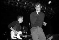 Le groupe FINE YOUNG CANNIBALS dans les années  80.<br /> <br /> PHOTO :  Agence Quebec Presse