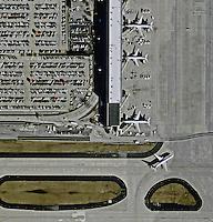 aerial map Hartsfield Atlanta International Airport, Atlanta, Georgia