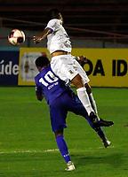 São Paulo (SP) 08/03/2021 - Santo André-São Caetano - Partida entre Santo André e São Caetano pelo Campeonato Paulista no estádio do Canindé em São Paulo na noite desta segunda-feira (08).