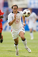 USA's Josh Wolff. The United States defeated Panama 3-1 in a shoot out after a scoreless game to win the CONCACAF Gold Cup at Giant's Stadium, East Rutherford, NJ, on July 24, 2005.