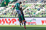 19.09.2020, wohninvest Weserstadion, Bremen, GER,  SV Werder Bremen vs Hertha BSC Berlin, <br /> <br /> <br />  im Bild<br /> <br /> 1:3 Davie Selke  (SV Werder Bremen #09)<br /> <br /> <br /> Foto © nordphoto / Kokenge<br /> <br /> DFL regulations prohibit any use of photographs as image sequences and/or quasi-video.