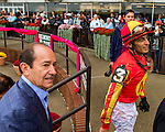 Elmont, NY - OCTOBER 08, 2016: *, Hoppertunity#3  with John Velazquez  aboard. wins the Jockey Club Gold Cup, at Belmont Park. (Photo by Sue Kawczynski/Eclipse Sportswire/Getty Images)