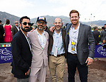 November 2, 2019: Connections for Uni, winner of the TVG Breeders' Cup Mile on Breeders' Cup World Championship Saturday at Santa Anita Park on November 2, 2019: in Arcadia, California. Bill Denver/Eclipse Sportswire/CSM