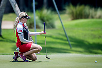 Charley Hull of England in act during day 4 of HSBC Women's World Championship 2018 at Sentosa Golf Club, Sentosa,, Singapore, on 4  March 2018, Singapore.  Photo by : Ike Li / Prezz Images