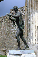 Greek Art:  Temple of Apollo, Pompeii.  ( A copy.)