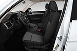Front seat view of a 2019 Volkswagen Atlas S 5 Door SUV front seat car photos