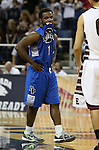 Desert Pines' Capri Uzan watches the clock tick down during a Division IA semi-final game against Elko in the NIAA state tournament at Lawlor Events Center, in Reno, Nev., on Friday, Feb. 28, 2014. Elko won 63-47. (Cathleen Allison/Las Vegas Review-Journal)